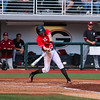 Georgia third baseman Aaron Schunk (22) during the Bulldogs' game against Charleston at Foley Field in Athens, Ga., on Sunday, February 19, 2017. (Photo by Cory A. Cole)