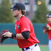 Georgia first baseman Adam Sasser (24) during the Bulldogs' game against Charleston at Foley Field in Athens, Ga., on Sunday, February 19, 2017. (Photo by Cory A. Cole)