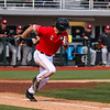 Georgia infielder LJ Talley (2) during the Bulldogs' game against Charleston at Foley Field in Athens, Ga., on Sunday, February 19, 2017. (Photo by Cory A. Cole)