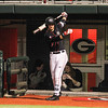 Georgia shortstop Cam Shepherd (7) during the Bulldogs' game against Charleston at Foley Field in Athens, Ga., on Friday, February 17, 2017. (Photo by Cory A. Cole)