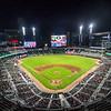An overview of the ball park during the Bulldogs' game against Georgia Tech at SunTrust Park in Atlanta, Ga. on Tuesday, May 9, 2017. (Photo by John Paul Van Wert)