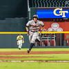Georgia catcher Michael Curry (13) during the Bulldogs' game against Georgia Tech at SunTrust Park in Atlanta, Ga. on Tuesday, May 9, 2017. (Photo by John Paul Van Wert)