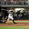 Georgia outfielder Tucker Bradley (28) during the Bulldogs' game against Georgia Tech in Athens, Ga. on Tuesday, April 11, 2017. (Photo by Cory A. Cole)