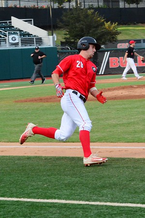 Georgia outfielder Tucker Bradley (28)<br /> Nov. 3, 2017 (Photo by Caitlyn Tam)