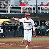 Georgia outfielder Tucker Bradley (28) during the Bulldogs' game against Charlotte at Foley Field in Athens, Ga. on Friday, Feb. 23, 2018. (Photo by Nicole Adamson)