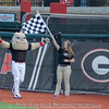 Hairy Dawg wins the mascot race – Georgia vs. Wofford – February 27, 2018