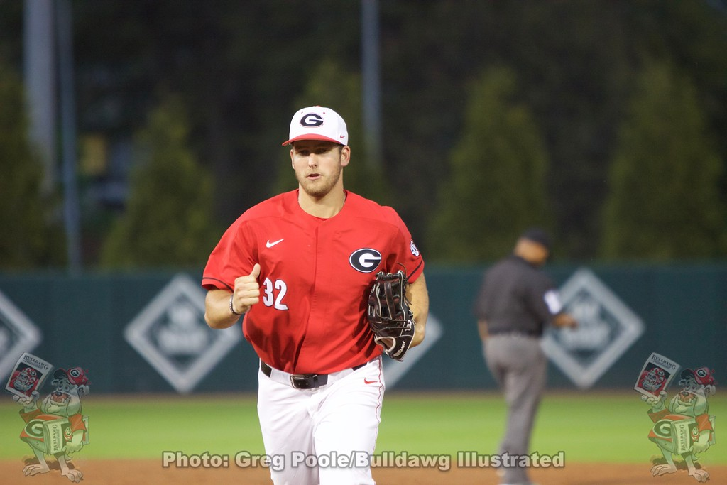 Keegan McGovern - Georgia vs. Georgia Tech - April 3, 2018