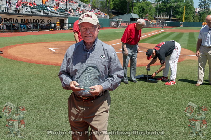 Vernon Brinson was awarded The Charley Trippi Distinguished Letterman Award