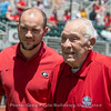Charley Trippi and his grandson