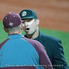 Words with the umpire  – Georgia vs. Texas A&M – March 30, 2018