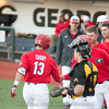 Michael Curry congratulated after a grand slam – Georgia vs. Kennesaw State – March 13, 2018