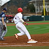 Georgia Georgia infielder LJ Talley (2) during the Bulldogs' game against Georgia Southern at Foley Field in Athens, Ga. on Saturday, Feb. 17, 2018. (Photo by Steffenie Burns)
