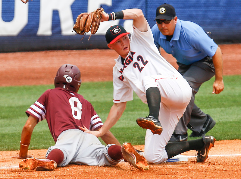 SEC Texas A&M Georgia Baseball Photo: Georgia Sports Communication