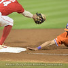 Clemson runner is safe