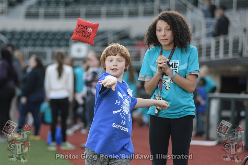 """Special Olympics 10th annual """"Hometown Rivals"""" baseball game at Foley Field  - April 01, 2019"""