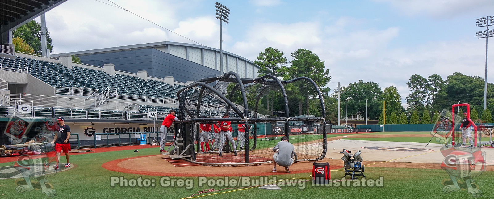 Opening of Fall Practice at Foley Field, September 18, 2019