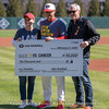 Diamond Dawgs present funds raised by the team