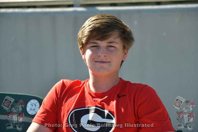 UGA Baseball commit Connor Crisp. Connor is the brother of current Bulldog Nolan Crisp (11)