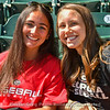 Mary Walter and Grace Wagner both from Harrisburg, PA. Grace is the sister of UGA baseball player Luke Wagner.