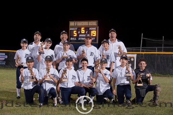 Millburn Wins Branchburg 11U-B Tournament