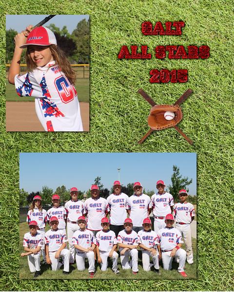 All Stars u12 individuals  2015