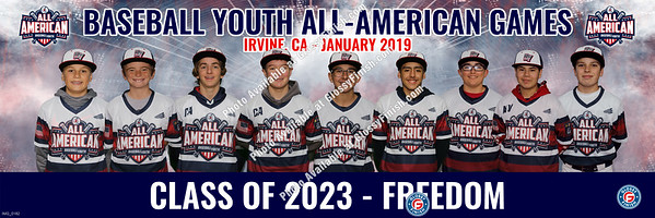 Baseball Youth All American Games - Irvine Winter 2019