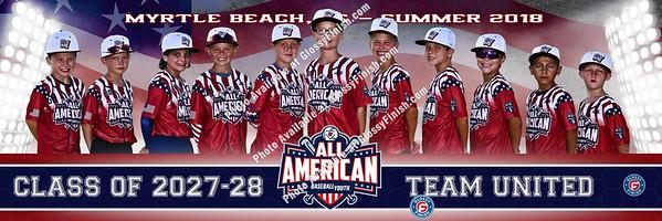 Baseball Youth All-American Games - Myrtle Beach  Summer 2018
