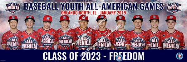 Baseball Youth All American Games - Orlando North Winter 2019