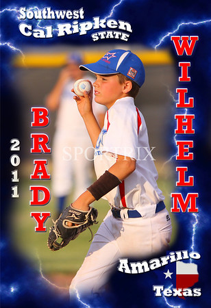West Texas State Custom Posters 2011