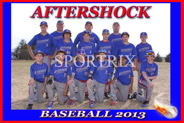 Aftershock Baseball 2013