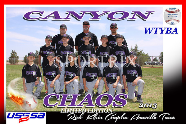 Canyon Chaos Team and   Individuals 2013