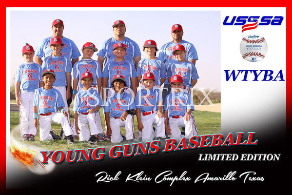 YOUNGGUNS Team Baseball 2013