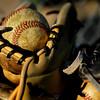 balls in glove