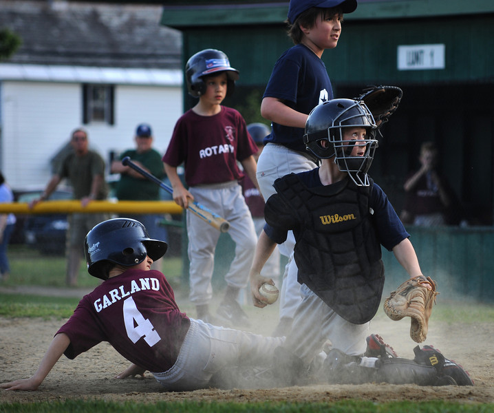 home plate play