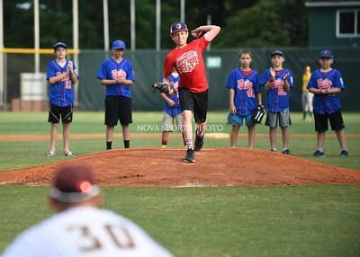 Baseball: Langley First Pitch 7.25.16