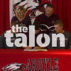 Senior Ryland King signs with Oklahoma Christian Wednesday, April 13 at Argyle High School in Argyle, TX. (Stacy Short / The Talon News)