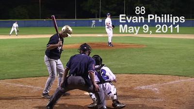 2012 grad Evan Phillips hits 90MPH.