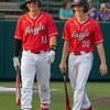 The Argyle Eagles baseball team defeats the Canyon Eagles with a final score of 19-1 in the fifth inning at Abilene Christian University in Abilene, Texas, on May 23, 2019. (Andrew Fritz   The Talon News)