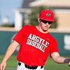 The Argyle Eagles baseball team defeats the Iowa Park Hawks with a final score of 2-0 in the seventh inning at Abilene Christian University in Abilene, Texas, on May 29, 2019. (Andrew Fritz | The Talon News)