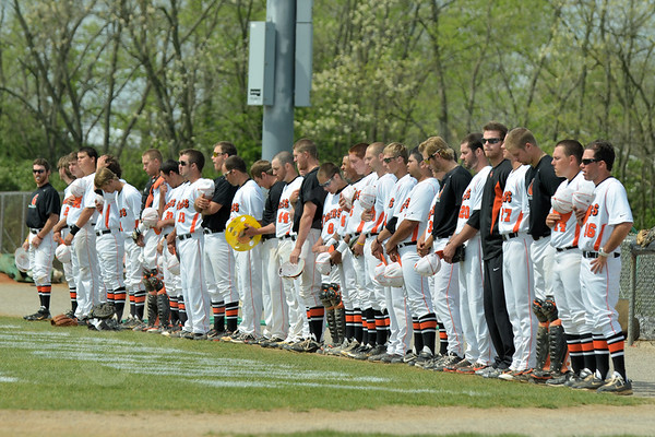 Baseball vs Rio Grande (Senior Day) 4-15-12
