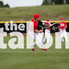 Baseball plays in round one against the Stephenville Yellowjackets at Brock High School in Brock, Texas, on April 2, 2014. (Jordyn Tarrant / The Talon News)