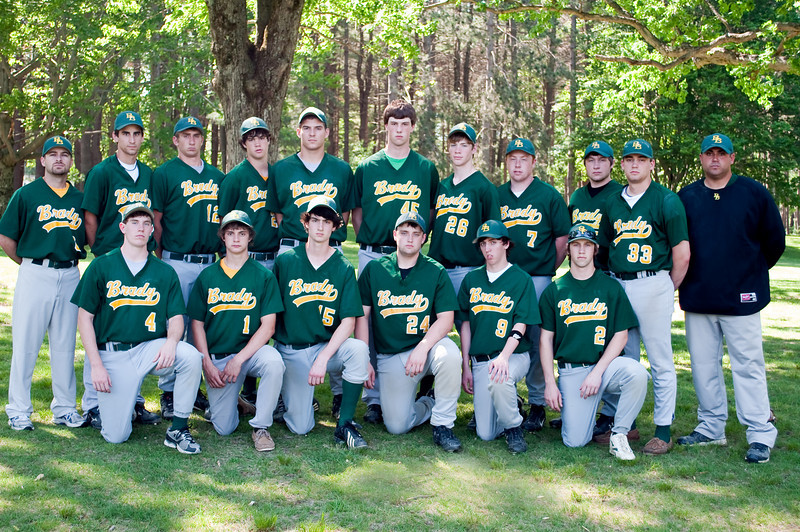 2010 Baseball Team Photo