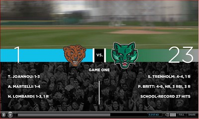 04.30.2016 Binghamton Baseball