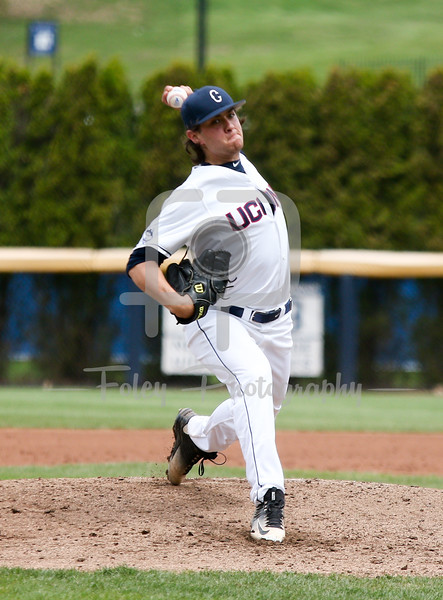 5/13/16 Storrs Connecticut: UConn's Anthony Kay (18) throws a pitch during an American Athletic Conference matchup. The Huskies defeated the Knights 5-4 at J.O. Christian Field in Storrs Connecticut.