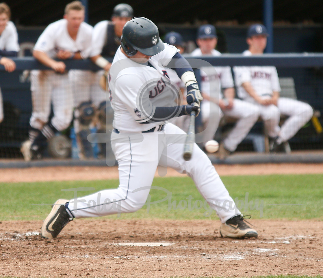 5/13/16 Storrs Connecticut: UConn's Tyler Gnesda (25) swings for a pitch during an American Athletic Conference matchup. The Huskies defeated the Knights 5-4 at J.O. Christian Field in Storrs Connecticut.