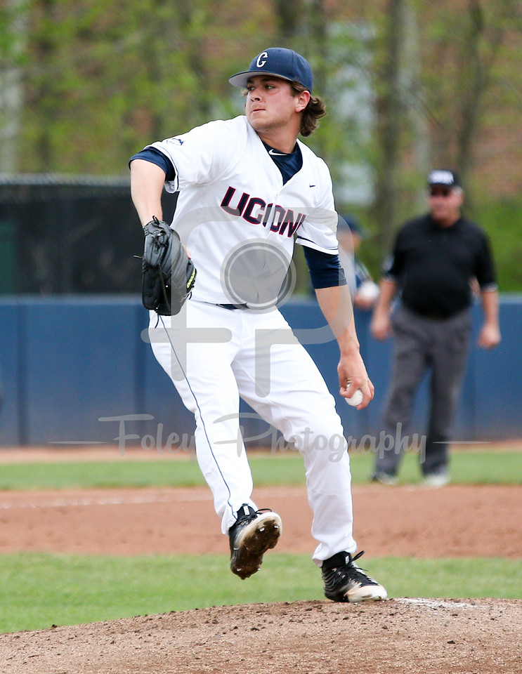 5/13/16 Storrs Connecticut: during an American Athletic Conference matchup. The Huskies defeated the Knights 5-4 at J.O. Christian Field in Storrs, Connecticut.