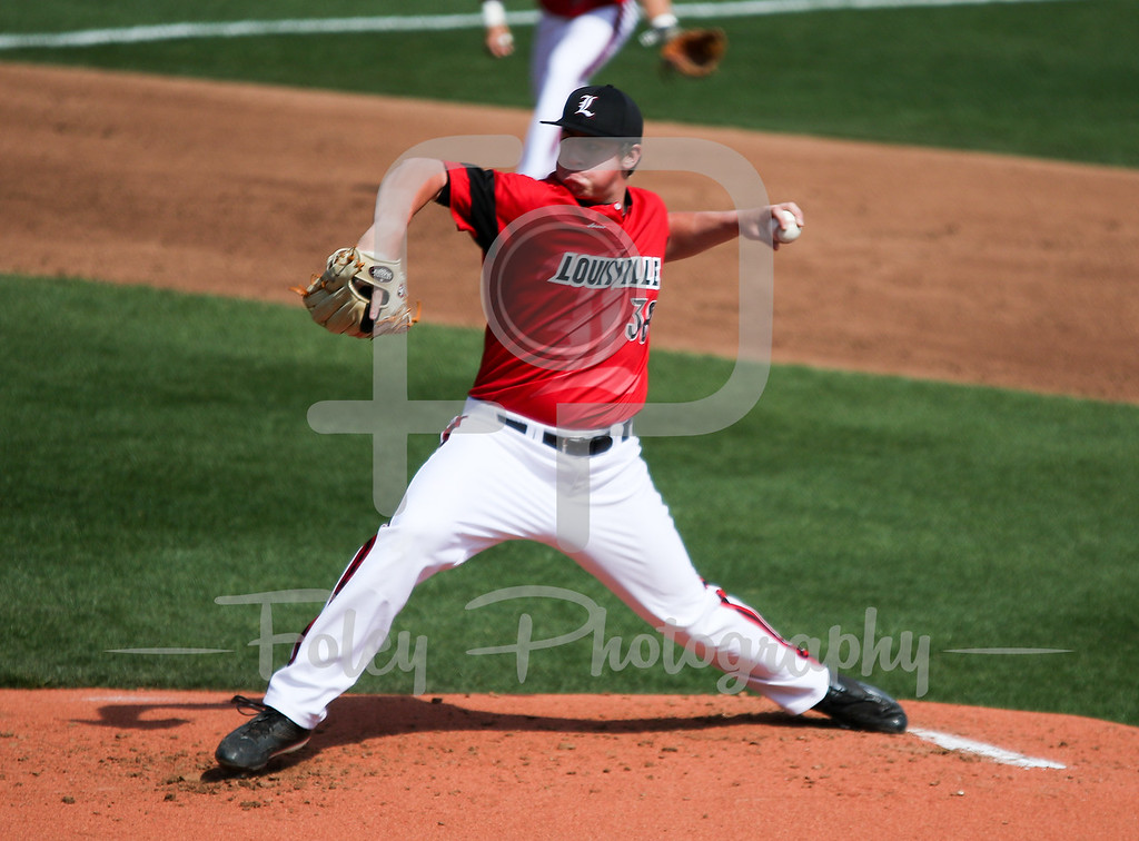 Louisville pitcher Brendan McKay (38)