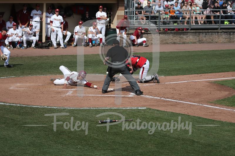 Boston College catcher Gian Martellini (2)
