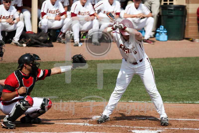 Boston College infielder Logan Hoggarth (6)