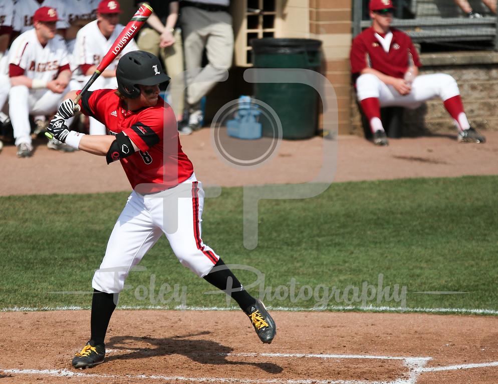 Louisville infielder Danny Rosenbaum (8)